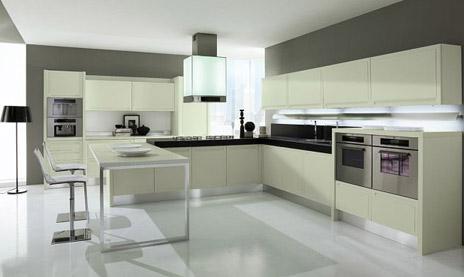 Układ zabudowy kuchni